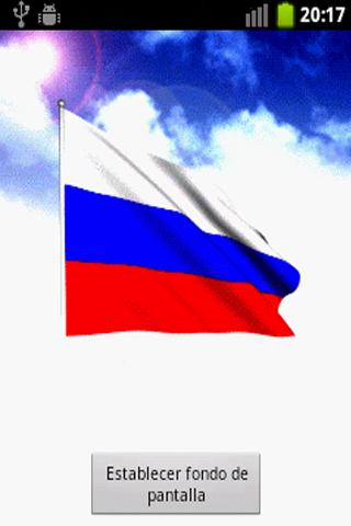 Russian Flag Live Wallpaper - screenshot