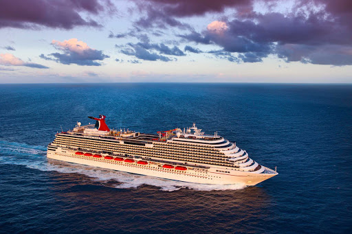 Carnival-Magic-Aerial - Carnival Magic sails out of Galveston, Texas, to Jamaica, the Cayman Islands, the Bahamas, Belize and other destinations.