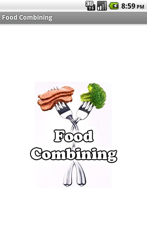 Food Combining - screenshot