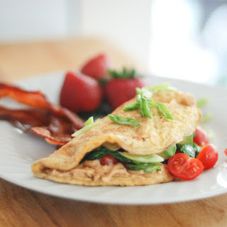 Hummus Omelette