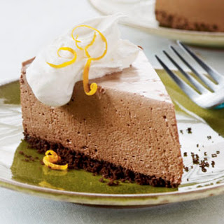 Orange-Chocolate Mousse Pie