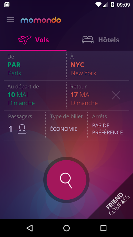 momondo - Vols et Hôtels - screenshot
