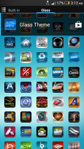 Glass - Icon Pack  screenshots 7