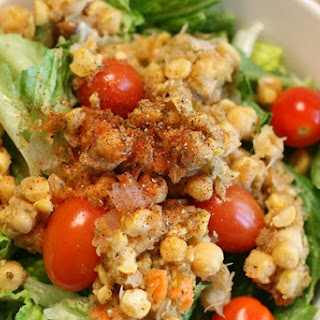 Leftover Juice Pulp Chickpea Salad