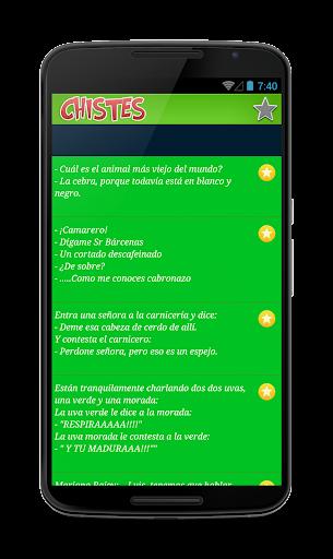 【免費娛樂App】Chistes Cortos Graciosos 2015-APP點子