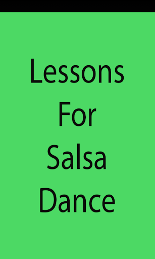 Lessons For Salsa Dance