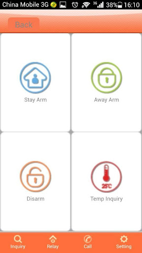 G200 home alarm system