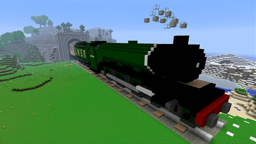 Trains Ideas - Minecraft Cube
