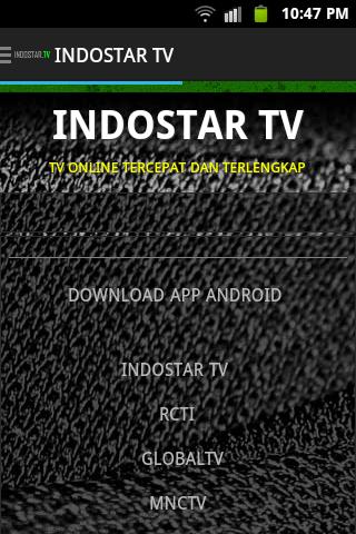 TV ONLINE INDOSTAR