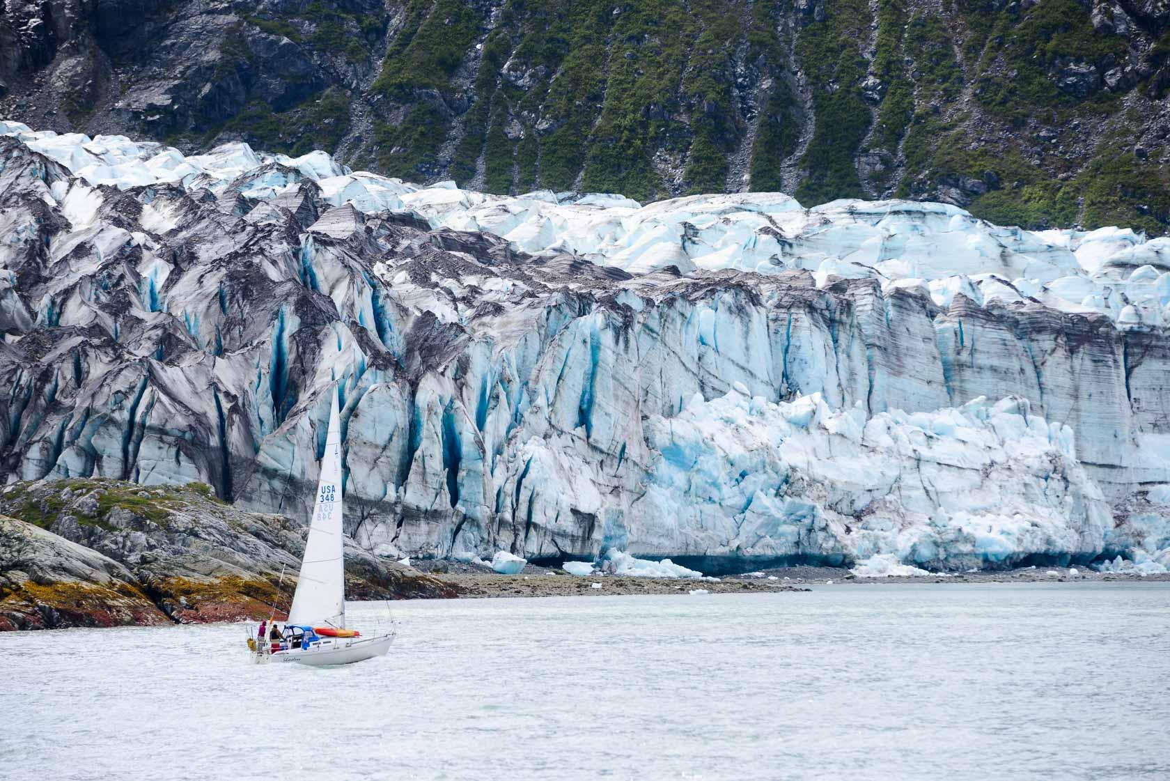 Sailing Glacier Bay, Gustavus, Alaska