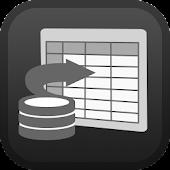 Meld Spreadsheets Database