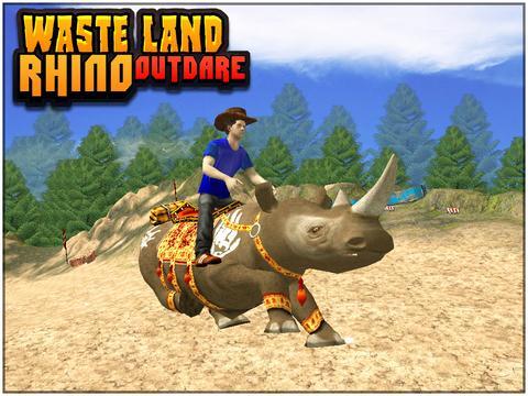 Wasteland Rhino OutDare