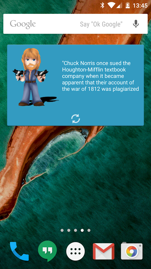 Chuck Facts- screenshot