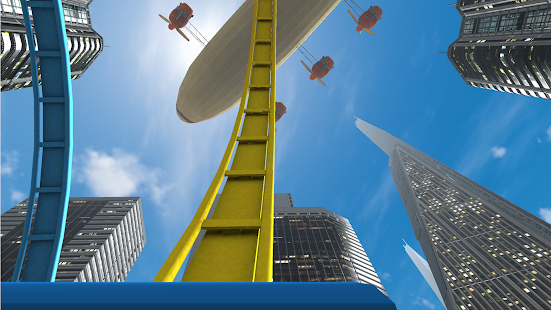 VR Roller Coaster- screenshot thumbnail