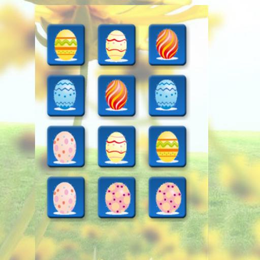 Easter Eggs Memory Game 休閒 LOGO-阿達玩APP