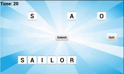 Vowel Please! - Countdown game- screenshot thumbnail