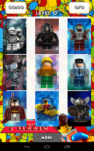 Toys Lego Puzzle Game