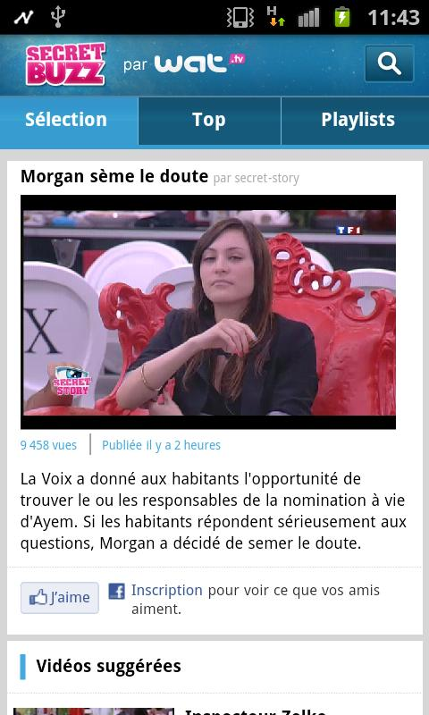 Secret Buzz par WAT.tv - screenshot