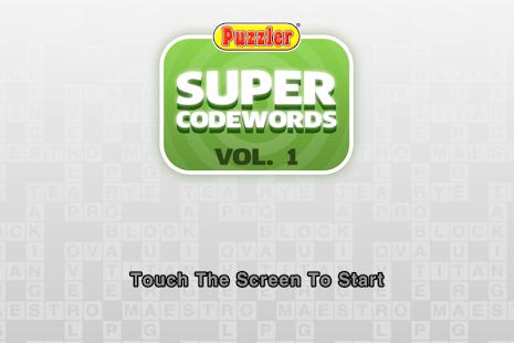 Puzzler Super Codewords - 1