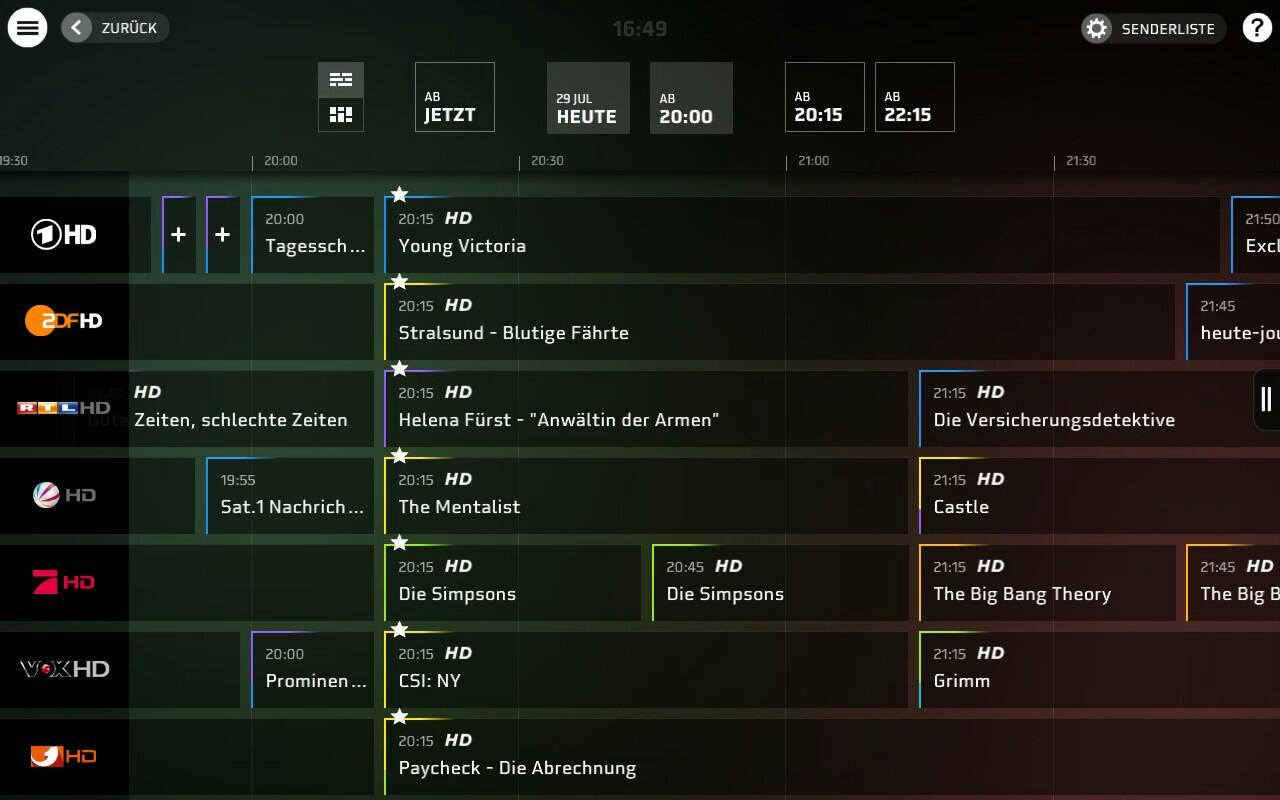 HD+ TV-Programm Guide - screenshot