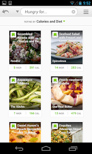 Recipes & Nutrition- screenshot thumbnail