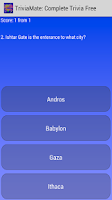 Screenshot of TriviaMate: Complete Trivia