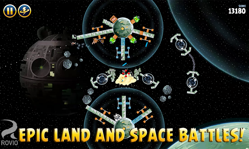 Angry Birds Star Wars HD screenshot #4
