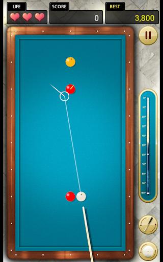 Billiards 3 ball 4 ball  screenshots 1