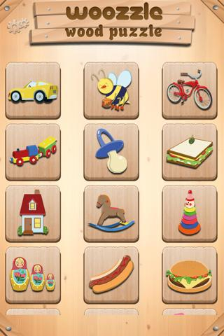 Toddlers Puzzle Woozzle - screenshot