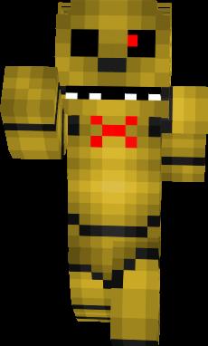 Skin Golden Freddy Minecraft Pe - fasrresume