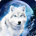 White Wolf Magic Effect LWP icon