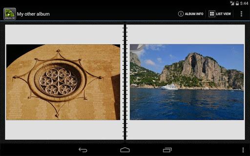 3d photo album