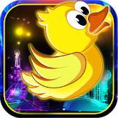 Floppy Bird: Neon Theme