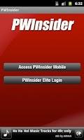 Screenshot of PWInsider
