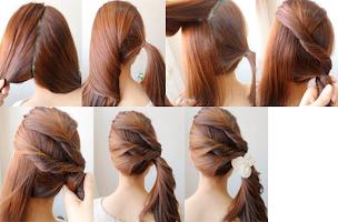Screenshot of Easy Hairstyles