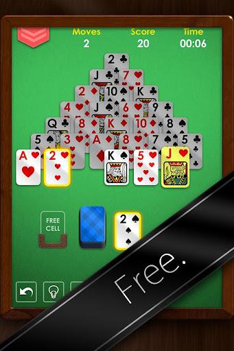 Pyramid Solitaire Premium - Free Card Game Apk Download 5