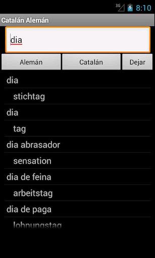 Catalan German Dictionary