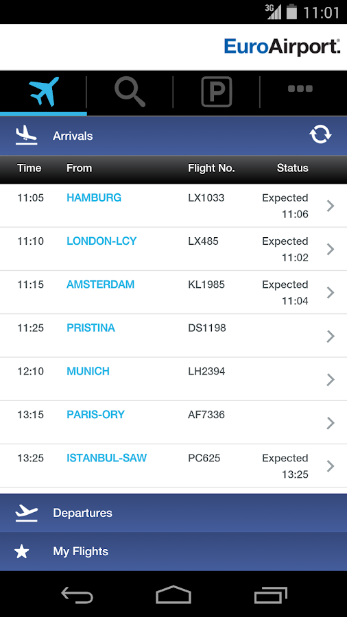 EuroAirport - screenshot