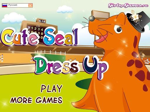 Cute Seal Dress Up