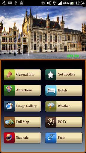 Bruges Offline Travel Guide
