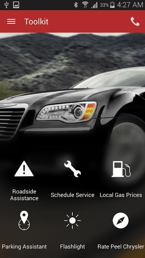 Peel Chrysler Fiat DealerApp - screenshot