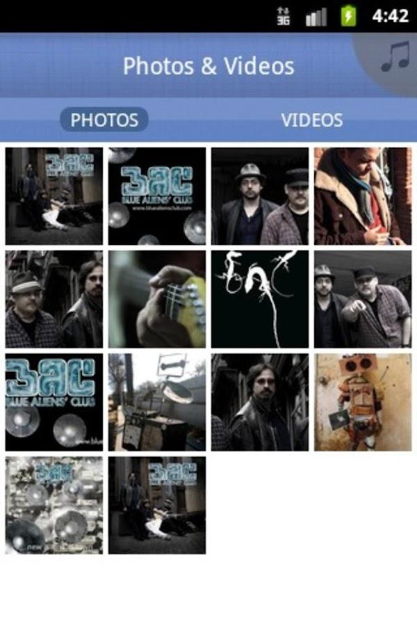 Blue Aliens' Club - screenshot