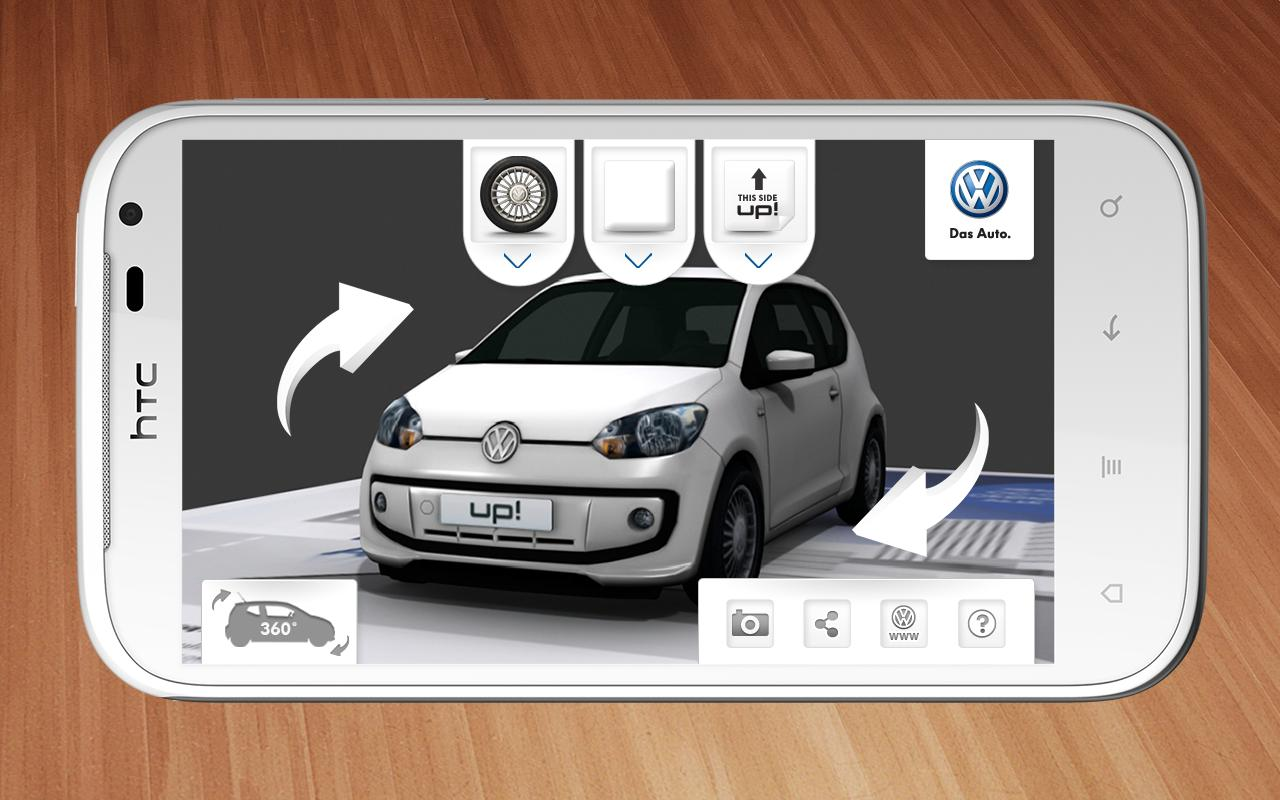 VW up! 3D- screenshot
