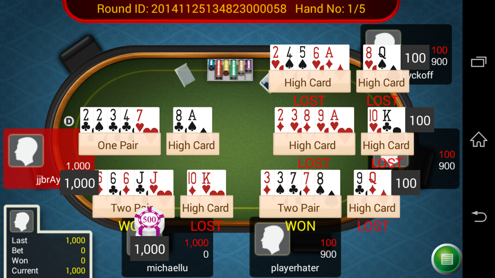 Pai Gow Poker King- screenshot