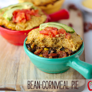 Two Bean-Cornmeal Casserole