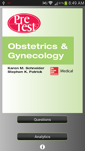 PreTest Obstetrics Gynecology