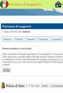 Permesso di Soggiorno - Android Apps on Google Play
