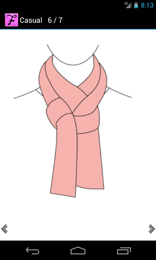 Scarf Fashion Designer - screenshot