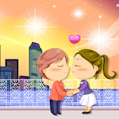 Couple Cartoon Valentine LWP