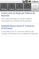 Screenshot of Revista O Caxiense